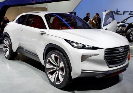Hyundai Intrado на Женевском автосалоне 2014