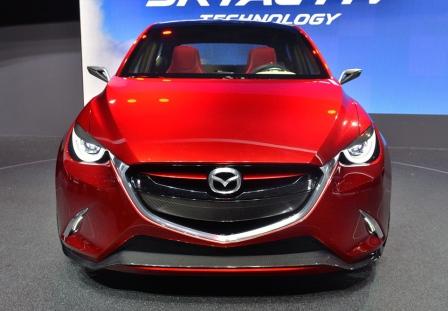 Mazda 2 на Женевском автосалоне 2014