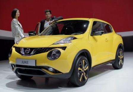 Nissan Juke на Женевском автосалоне 2014