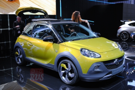 Opel Adam Rocks на Женевском автосалоне 2014