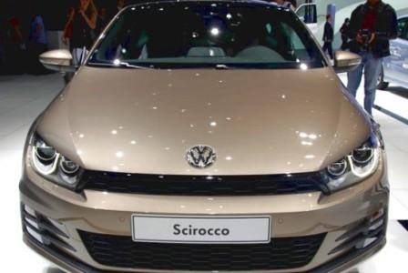 Volkswagen Scirocco на Женевском автосалоне 2014