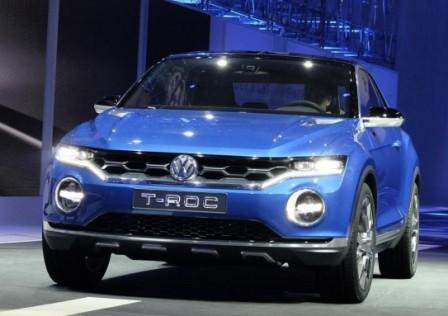 Volkswagen T-Roc на Женевском автосалоне 2014
