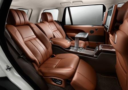 Задние седения Range Rover Long Wheelbase