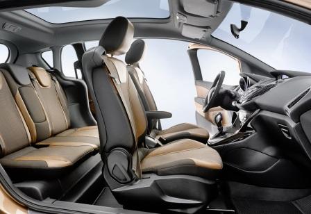 Салон Ford B-Max (2)