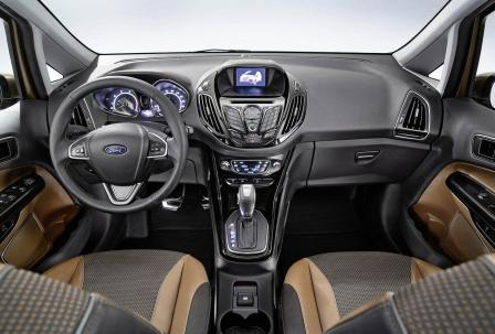 Салон Ford B-Max