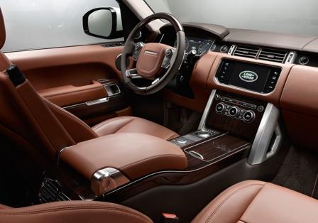 Салон Range Rover Long Wheelbase