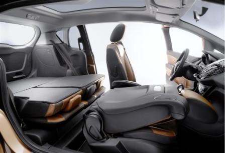Сидения Ford B-Max