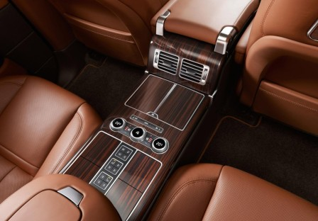 Центральная консоль Range Rover Long Wheelbase
