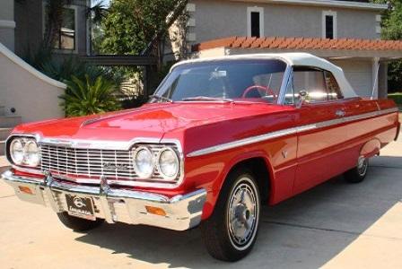 Chevrolet Impala 1957 года