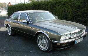 Jaguar XJ40 1988 года
