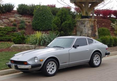 Nissan 280Z 1975 года