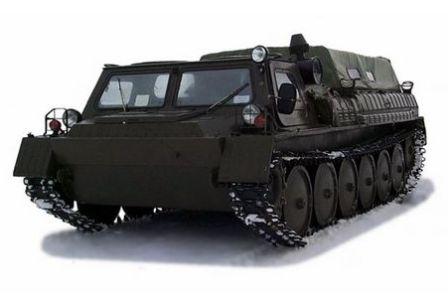 Вездеход ГАЗ-34039 Газушка (2)