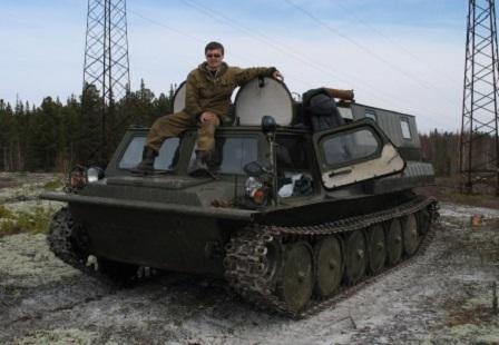 Вездеход ГАЗ 34039 Газушка