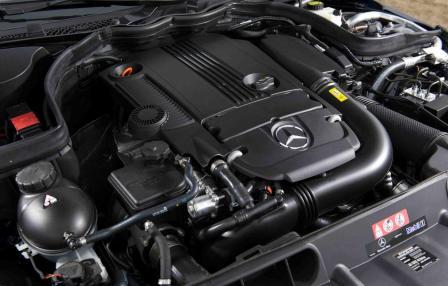 Двигатель Mercedes-Benz C250 sedan