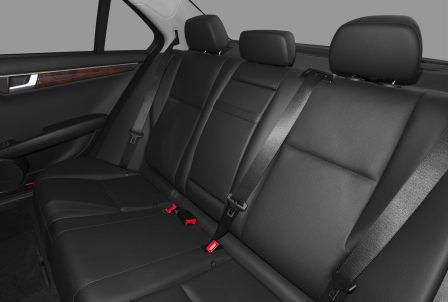 Задние сидения Mercedes-Benz C250 sedan (6)