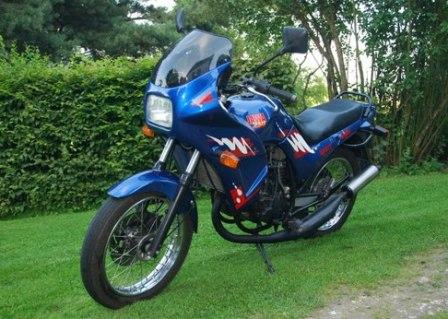 Мотоцикл Jawa 250/593 Master