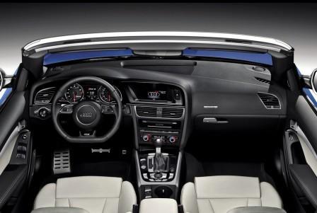 Салон Audi RS5 Cabriolrt