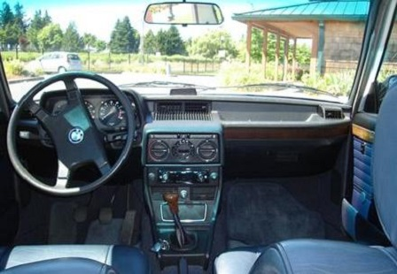 Салон BMW E12 528i