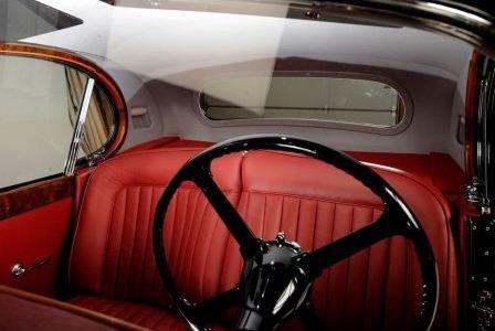 Салон Jaguar XK 120 (4)