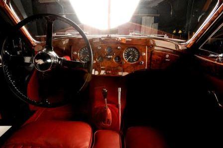 Салон Jaguar XK 120