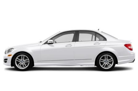 Mercedes-Benz C250 sedan сбоку