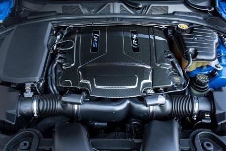 Двигатель Jaguar XFR-S 2014 года