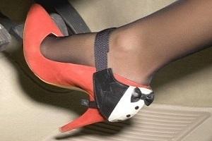 Женская обувь для водителя