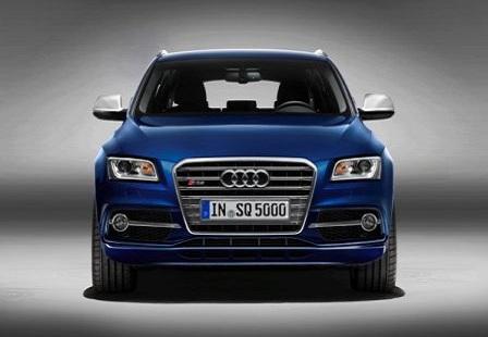 Audi SQ5 спереди