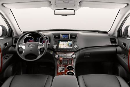 Салон Toyota Highlander 2015