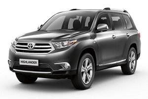 Toyota Highlander 2015 года