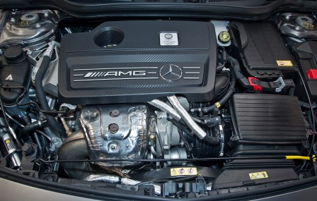 Mercedes-Двигатель Mercedes-Benz A45 AMG