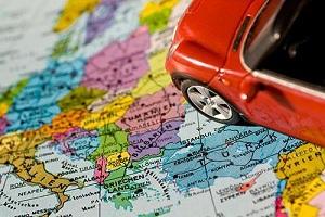 Поездка в Европу на автомобиле