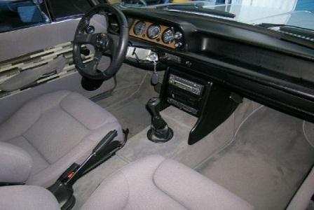 Салон BMW 2002 1968 года