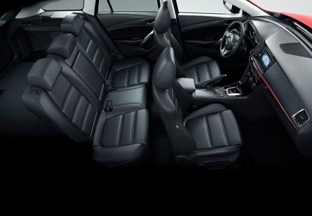 Салон Mazda 6 универсал