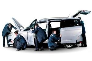 Сервисное обслуживание автомобиля