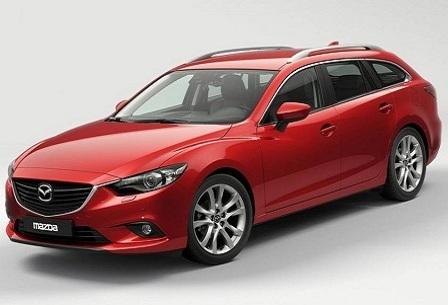 Mazda 6 универсал 2013 года