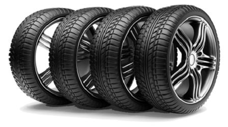 Запасной комплект колес
