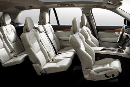 Салон кроссовера Volvo XC90 2014