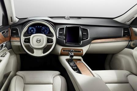 Салон Volvo XC90 2014