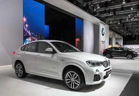 BMW X4 x-Drive 35i на ММАС 2014