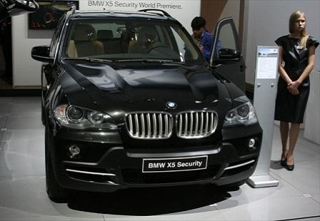 BMW X5 Sequrity на ММАС 2014