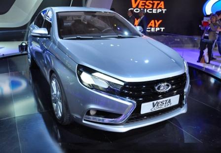 Lada Vesta на ММАС 2014