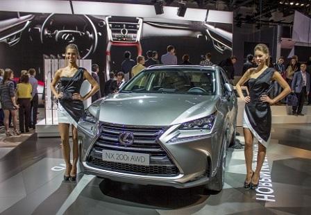 Lexus NX на ММАС 2014