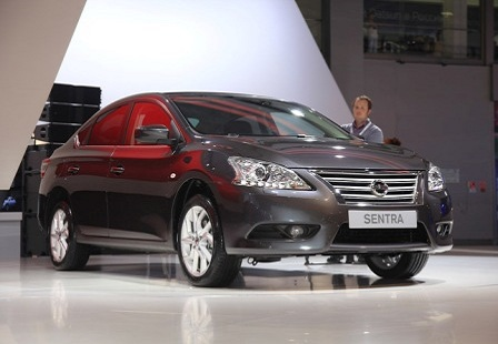 Nissan Sentra на ММАС 2014