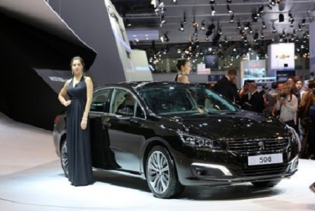 Peugeot 508 на ММАС 2014