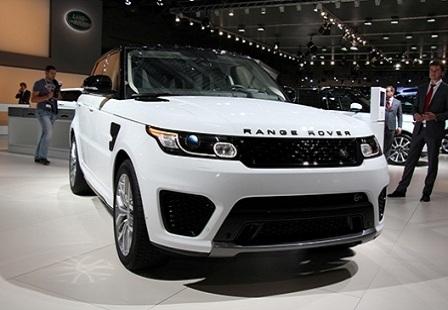Range Rover Sport SVR на ММАС 2014