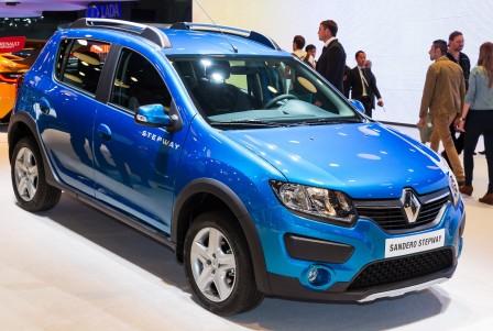 Renault Sandero на ММАС 2014