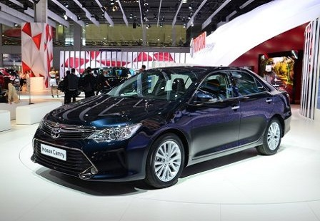 Toyota Camry на ММАС 2014