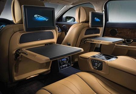 Задний ряд Jaguar XJ