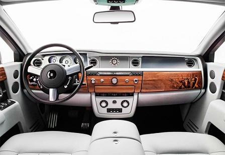 Интерьер Rolls-Royce Phantom Metropolitan Collection 2014 года